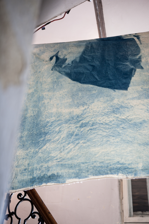 Textile Arbeit von Kirsten Heuschen
