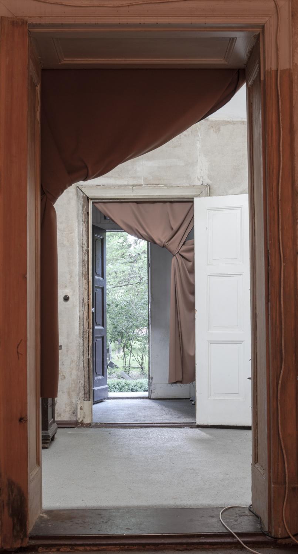 Ausgang des alten Verwalterhauses Berlin